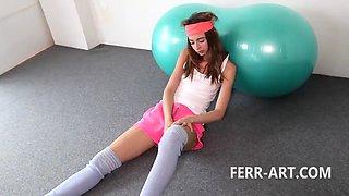 Leyla Vintage Masturbation anal plug - Part I
