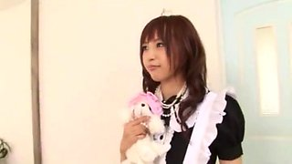 Best Japanese chick Yu Namiki in Hottest Stockings, Maid JAV video