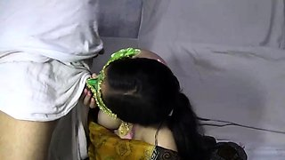 Mature Indian MILF Bhabhi Velamma Sucking Big Cock