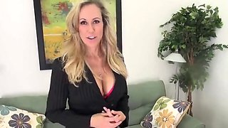 Brandi hot milf with big clit joi