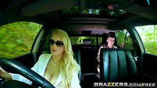 Brazzers - Moms in control - Teens In The Backseat scene starring Angel Wicky Jimena Lago
