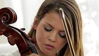Cello Instructor Fucks Student