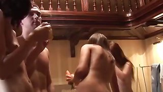 Sex orgy with oral, anal and dildo fucks