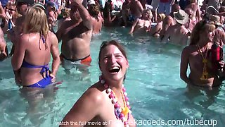 Swinger Nudist Pool Party For Fantasy Fest Dantes
