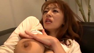 Horny Japanese chick Sanae Asoh in Crazy Close-up, Cunnilingus JAV clip