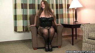 American moms in pantyhose part 8
