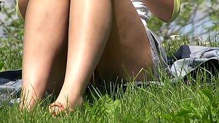 Sur l herbe