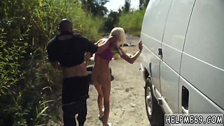 Latin teen solo hd and ebony coach Halle Von is in town on vacation with her boypatron