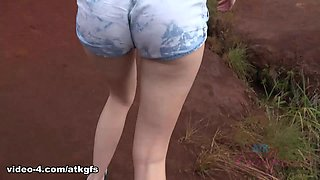 Kenzie Wants To Explore The Island, You Show Her Some Great Things - ATKGirlfriends