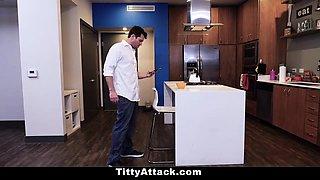 TeamSkeet - Hot Nurse TitFucks StepDad