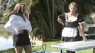 Exotic amateur Maid, Massage sex movie