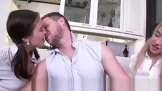FuckStudies.com -Ketrin Tequila_and_Jenny Fer - Tutor seduces two students