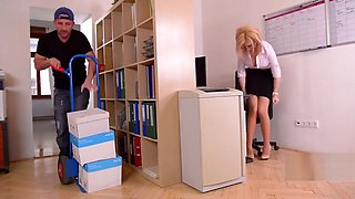 Handyman and Secretary