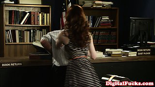 Petite Stoya in stockings pussy licked and fucked