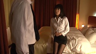 Horny Boss Fucks His Sexy Asian Secretary In Motel Room