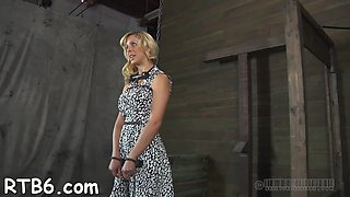 wild punishment for slut bdsm segment 1