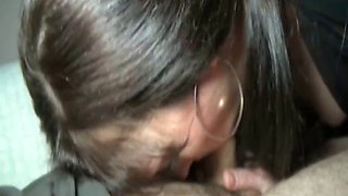 Dark haired Melyna analfucked