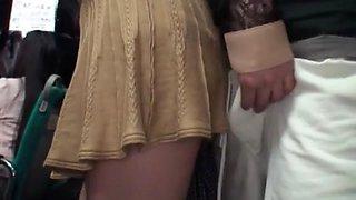 Crazy Japanese chick Juri Asakura, Tsumugi Serizawa, Hiyori Komiya in Horny Cumshot JAV clip