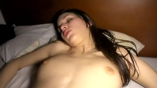 Cheating girlfriend creampied by her boyfriend's brother