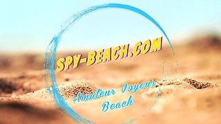 Topless Amateurs Voyeur Beach - Candid Bikini Close Up