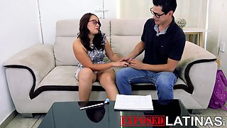 Big Ass Mexican Schoolgirl Changes Sex For A Scholarship