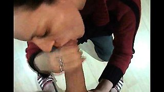 VERY Deep Throat Swallow Cum Oral Blowjob Amateur Gonzo POV