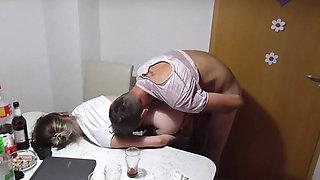 Drunk Schoolgrl Gets Fucked