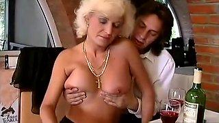 Drunk MILF Has Anal Sex