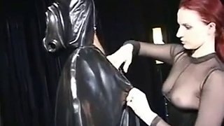 Latex smother vac bed