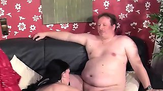 Meli helps a mature couple with a fantasy