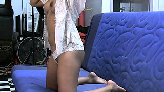 Nikki Barely Legal Cute Indian College Teen In Casting Couch
