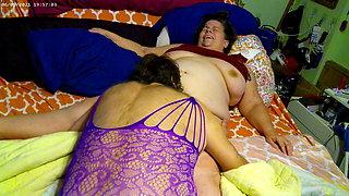 crossdressing hubby eats wife
