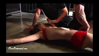 Superheroine Flash Girl Is Captured Fucked and Strangled