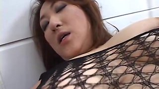 Rie Obayashi in Woman Rie Obayashi of the carefully selected wife Series hard milk K Cups