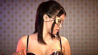 Fabulous Japanese whore in Horny HD, Blowjob JAV scene