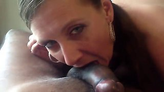 Teacher give her student a blowjob