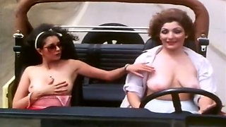 Busty and beautiful classic white ladies want to have fun
