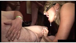 swinger club gangbang