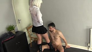 ballbusting punishment