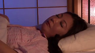 sleeping japanese mom