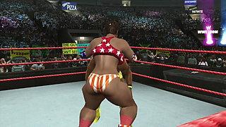 nicole vs kofi kingston clip