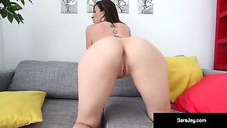 Horny Hot Milf, Sara Jay Gets Pounded By A Big Black Cock!