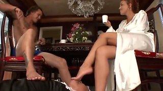 Sissy slave of Megan Jones Dominatrix