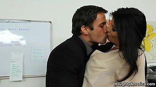 Romi Rain & Alan Stafford in Naughty Office
