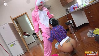 fucking a latina maid for easter