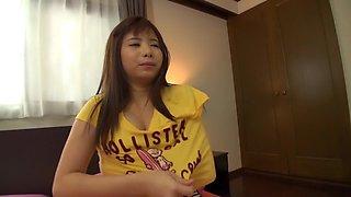 Best Japanese chick Rico Shimazaki in Incredible striptease, masturbation JAV video