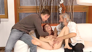 Russian old mom Unexpected experience with an older
