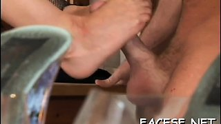 Sensual girlfriend adores meat member insertion