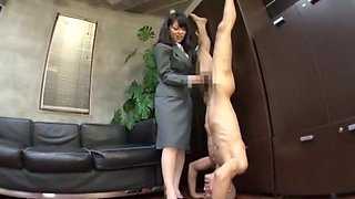 Best Japanese girl Chika Arimura, Misa Takada, Ran Kayama in Fabulous Foot Fetish, Secretary JAV clip