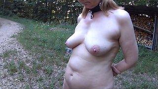 Incredible amateur BDSM, Slave porn scene